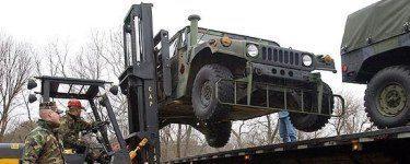 Military Vehicle Transport