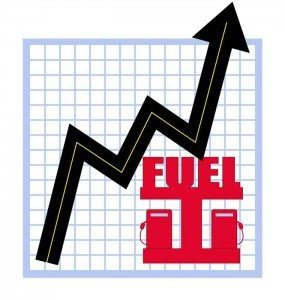 Fuels prices are on the rise again in July 2013