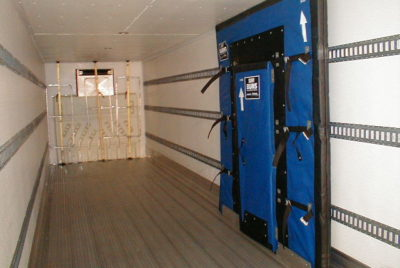 Refrigerated LTL with ETrack and Insulated Door